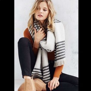 Urban Outfitters Multi Stripe Blanket Scarf